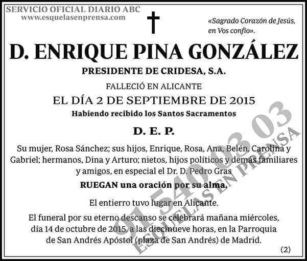 Enrique Pina González